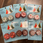 PAPER BAKING CUPS SMALL XMAS 100 PK