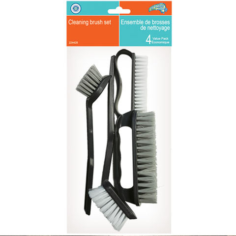 VALUE PACK CLEANING BRUSH SET - 4PCS