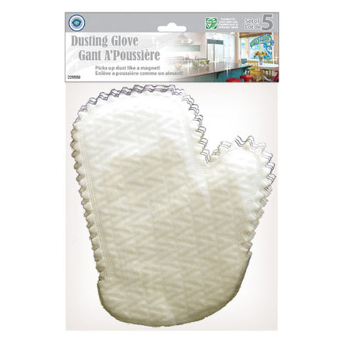 ELECTROSTATIC CLEANING MITTS 5PK
