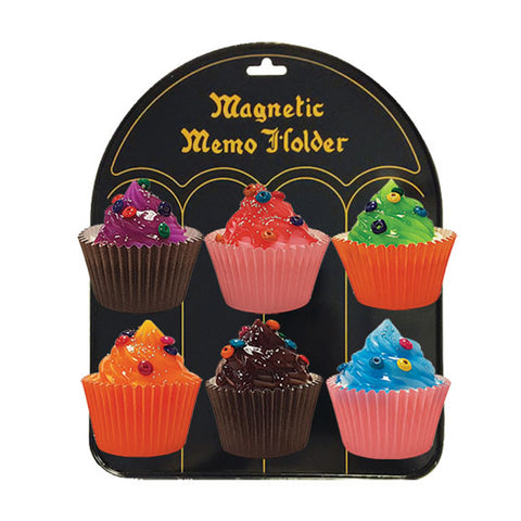 FRIDGE MAGNET - ASSORTED CUP CAKE DESIGNS