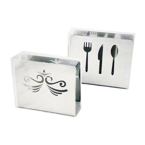 NAPKIN HOLDER - ASST DESIGNS