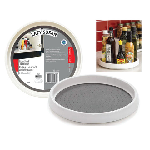 "NON-SKID 10"" CABINET LAZY SUSAN Turntable"