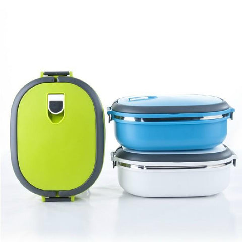 STAINLESS STEEL INSULATED LUNCH CONTAINER - 900ML