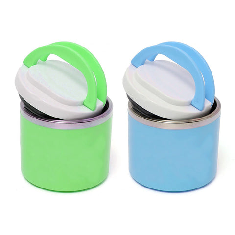 STAINLESS STEEL INSULATED LUNCH CONTAINER - 630ml