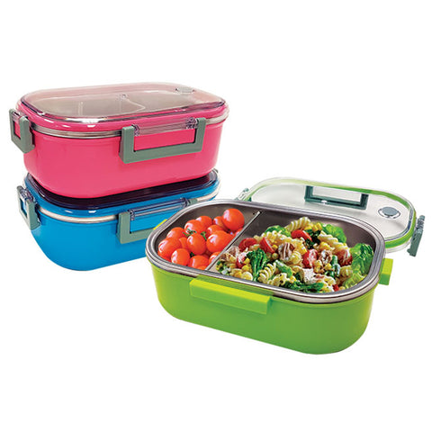 STAINLESS STEEL LUNCH CONTAINER 980ML