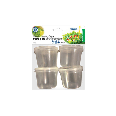 SALAD DRESSING CUPS 4PK