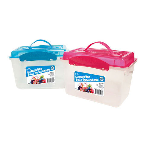 STORAGE BOX WITH HANDLE 2.7L