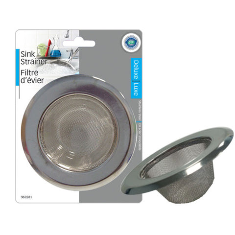 STAINLESS STEEL SINK STRAINER 11.5 cm outer (7 cm inner)