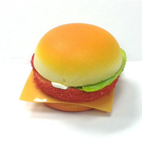 FRIDGE MAGNET - ASSORTED SPONGE HAMBURGER DESIGNS