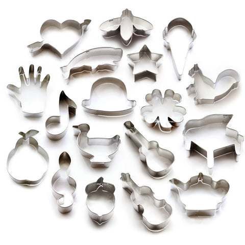 $1 Stainless Steel Cookie Cutters
