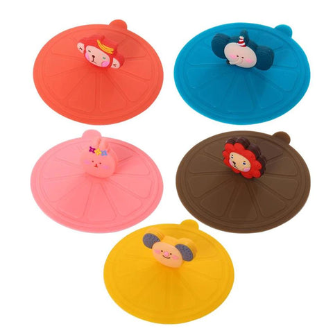 Silicone Cup Cover Cartoon