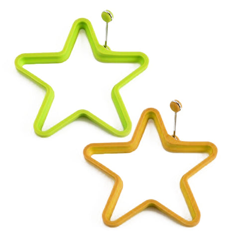 Silicone Series Egg Ring Star
