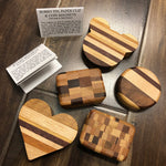 Wood Series Handmade Coin Magnets