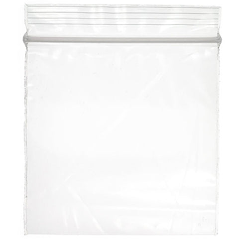Zip Clear Bag 8x10
