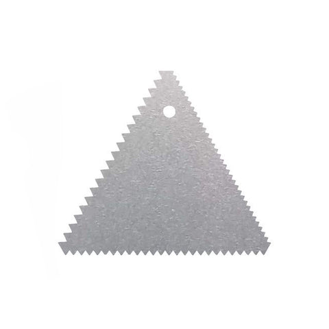 Stainless Steel Dough Scraper Triangle