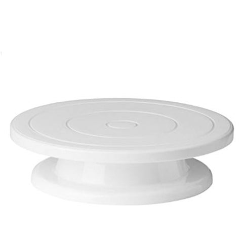 Cake Turntable Plate Display Stand Holder 11""