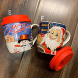 Ceramic Mug XMAS with Lid