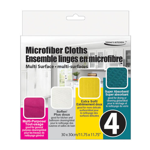 MICROFIBER CLEANING CLOTH 4PCS