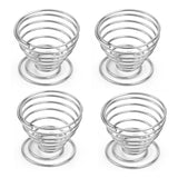 Stainless Steel Spring Wire Tray Egg Cup