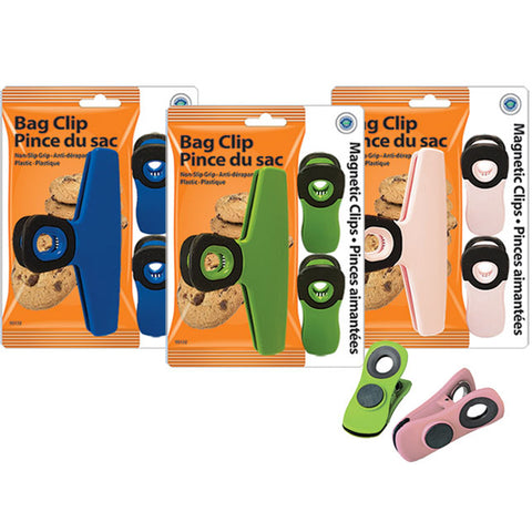 BAG CLIPS SET (1 BAG CLIP+ 2 MAGNETIC)