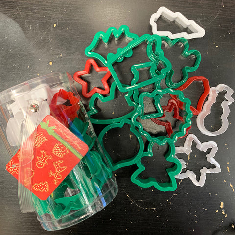 Cookie Cutter Set XMAS 14PK