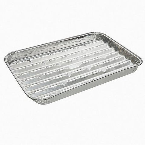 Aluminum Foil Grilling Tray 2PK 9x13IN