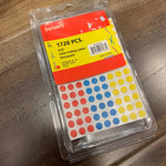 Color Coding Labels 1728pcs