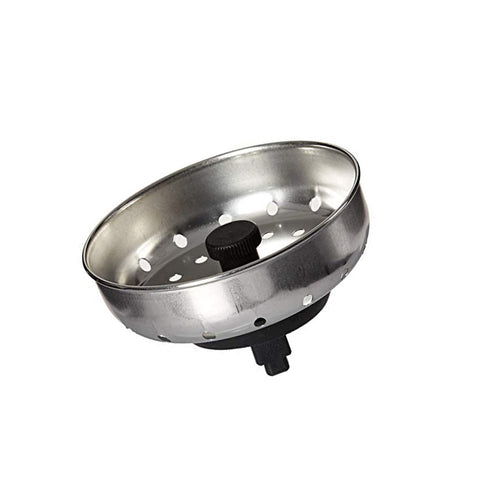 Stainless Steel Sink Strainer 8 cm outer (5 cm stopper)