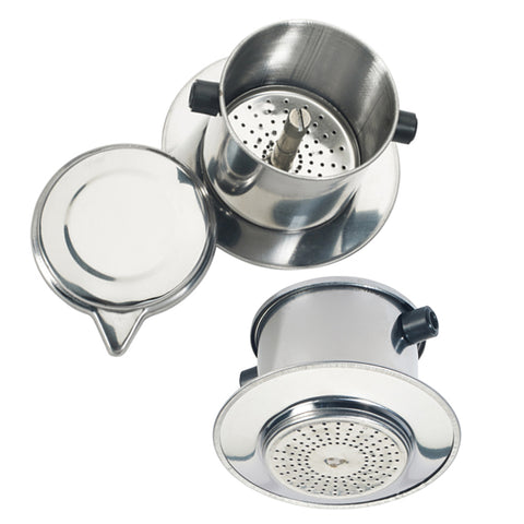 Stainless Steel Vietnamese Coffee Filter Set