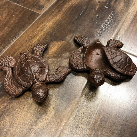 Copper Turtle Key holder