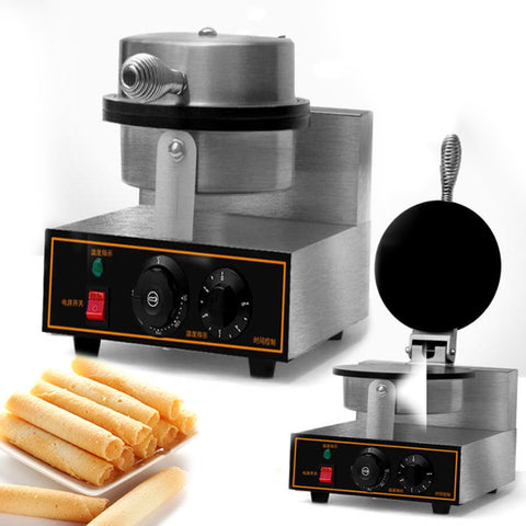 Professional Electric single head Egg Biscuit Roll Maker Machine
