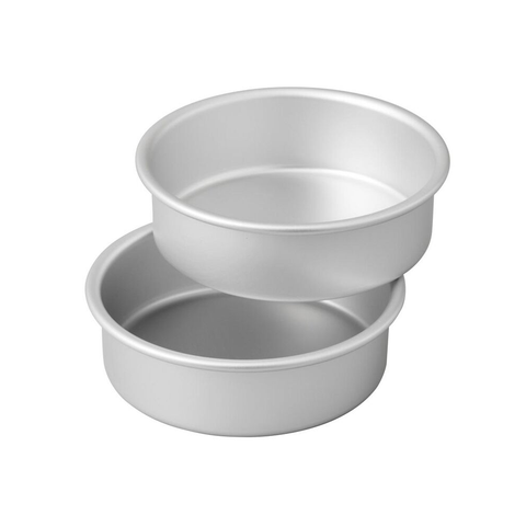 Aluminum Cake Pan with Fixed Bottom_Round