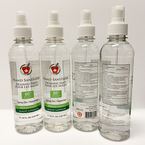 Hand Sanitizer Spray On 80% Alcohol 330 ml