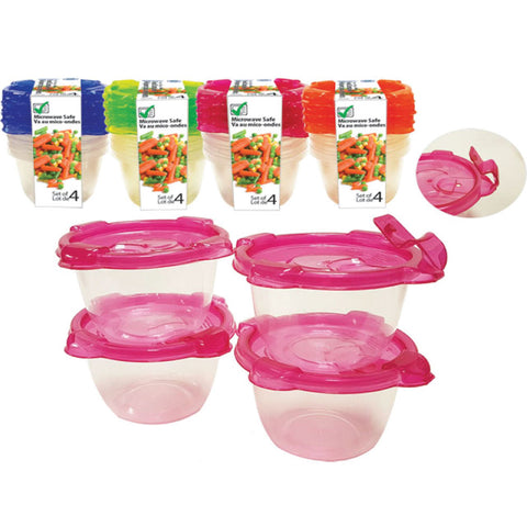 MICROWAVE FOOD CONTAINER - 140ML - SET OF 4