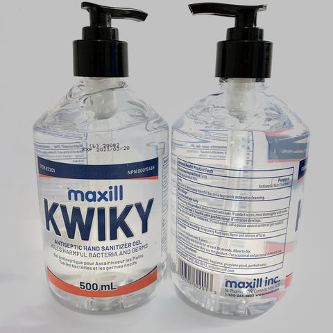 KWIKY Hand Sanitizer Gel 70% Alcohol 500mL