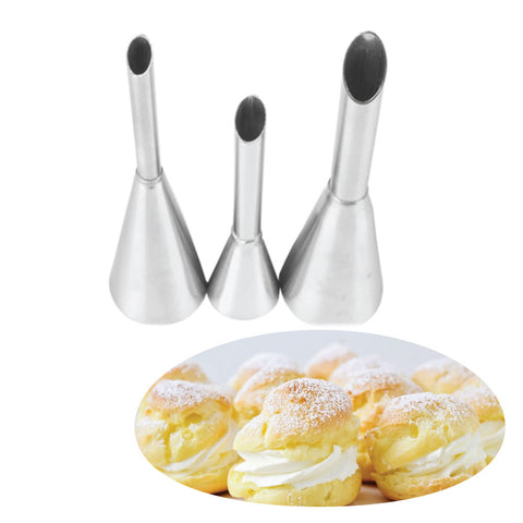 Stainless Steel Cream Puff Nozzles