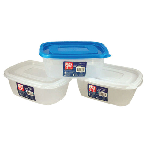 PACKIT PLASTIC AIR TIGHT FOOD CONTAINER (1000ML)