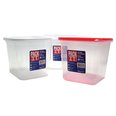 PACKIT PLASTIC AIR TIGHT FOOD CONTAINER (2000ML)