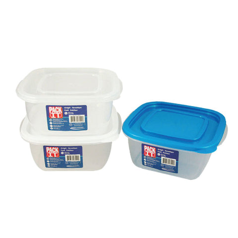 PACKIT PLASTIC AIR TIGHT FOOD CONTAINER (950ML)