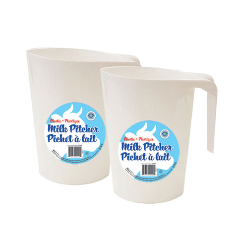 PLASTIC MILK BAG PITCHER 7.25""