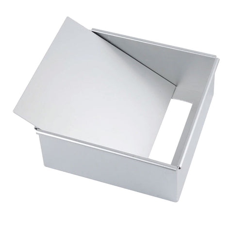 Aluminum Cake Pan with Removable Bottom _ Square