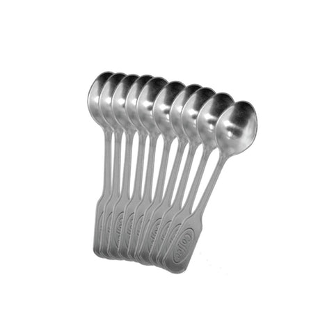 STAINLESS STEEL EXPRESSO SPOON BULK 100CT