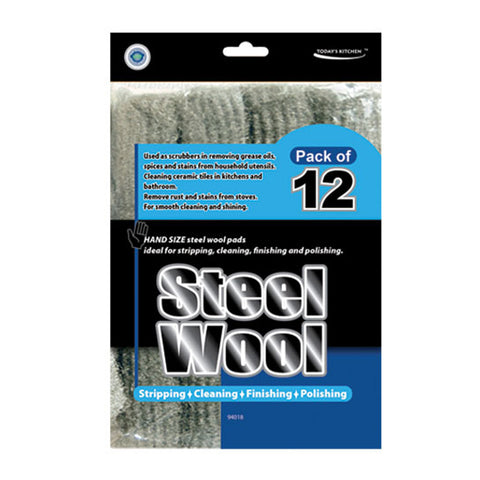 STEELWOOL (PACK OF 12)