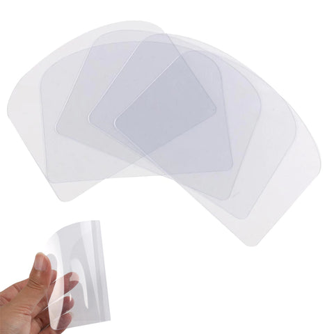 Transparent Flexible Plastic Soft Spatula Cake Cream Scraper 13cm x 10cm