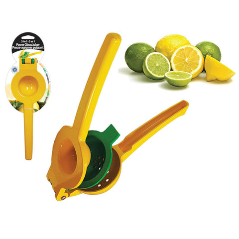 2-IN-1 POWER CITRUS JUICER - ALUMINUN ALLOY