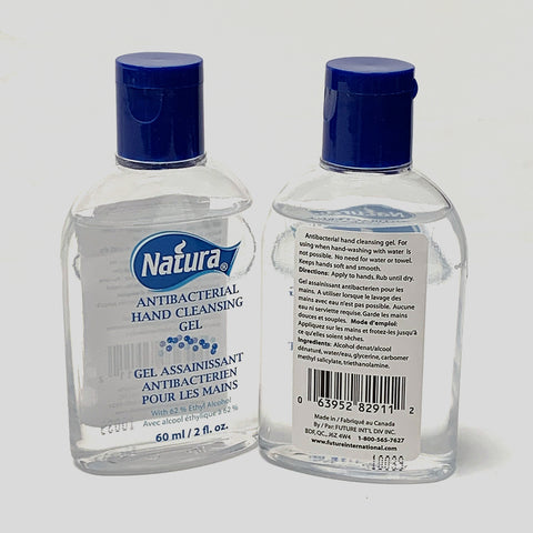 Natura Hand Sanitizer Cleansing Gel 60ml (Available In-Store)