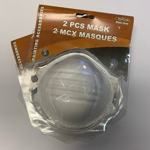 Disposable Face Mask 2 PACK