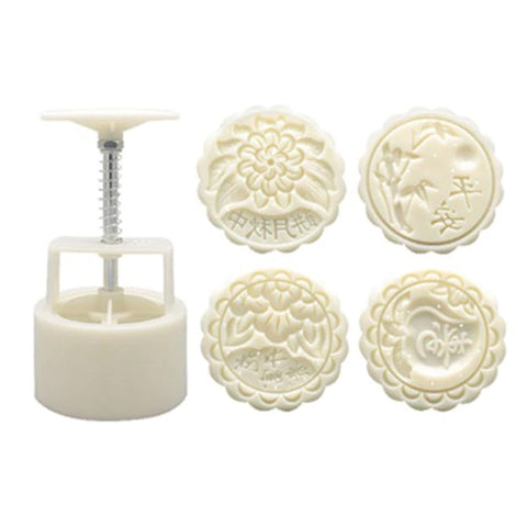 Moon Cake Maker Set 125g - Luck