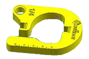 "1/4"" Interlocking Horseshoe Spacers - Acufloor"