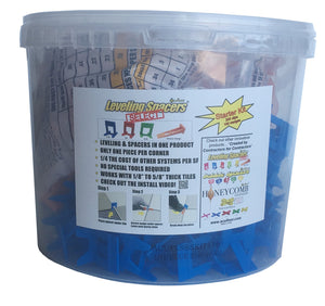 "Start Kit - 1/16"" Blue Leveling Spacers® Select - Acufloor"